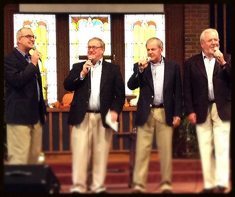 4 The Light Quartet Performance Group Singing Southern Gospel Classics at Mt Comfort United Methodist Church in Greenfield, IN.  4 The Light Quartet originally were known as the Mt Comfort Men's Quartet.