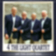 4 The Light Quartet 2015 CD Let THe Glory Roll CD Cover.  Southern Gospel Gaither Style Music Entertainment Group