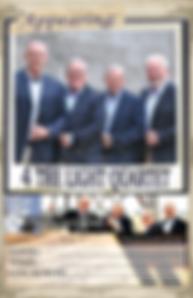 4 The Light Southern Gospel Indiana Singing Vocal Quartet Concert Poster
