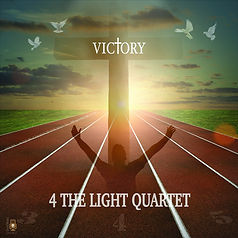 4 The Light Quartet 2016 Victory  CD Cover.  Southern Gospel Gaither Style Music Entertainment Group