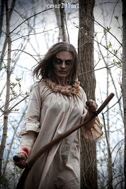 The Lady in the Woods