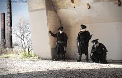 Resting Black Guards