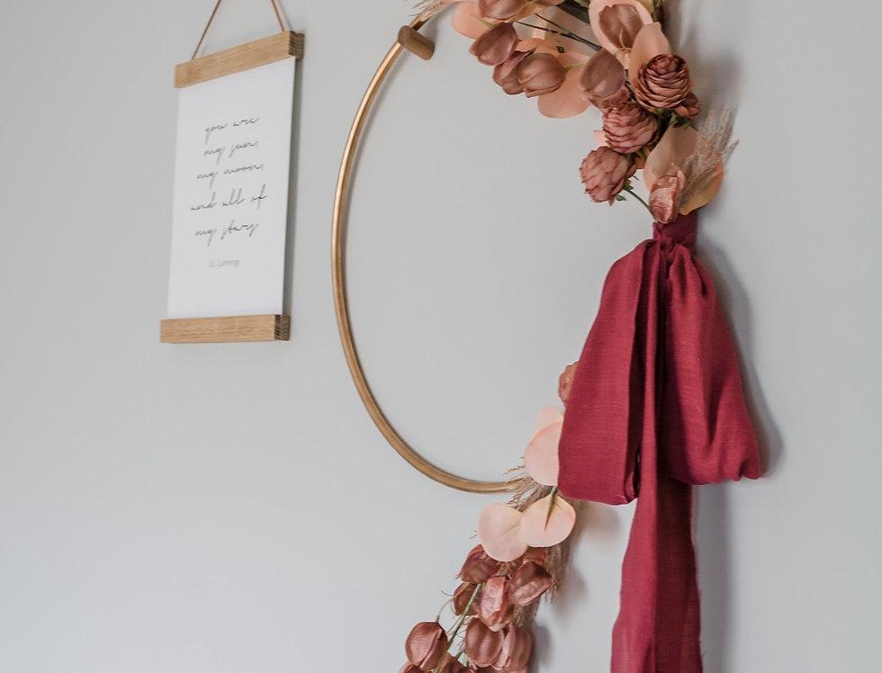 Rapunzel Wreath