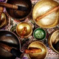 Metal and Tibetan Singing Bowls at Starhawk Design Studio