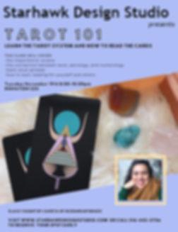 Tarot Class at Starhawk Design Studio in Greenpoint Brooklyn NYC with Zaneta @starhawkdesignstudio