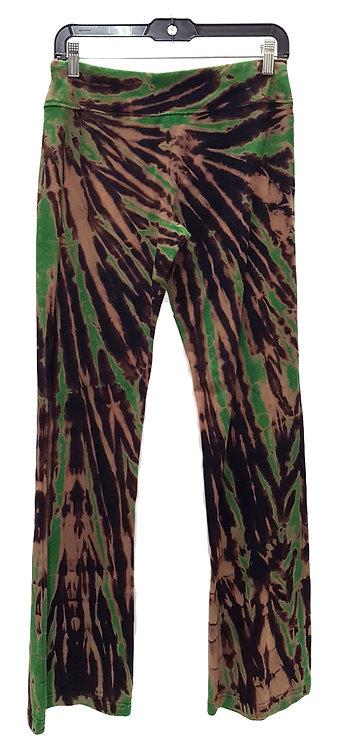 Apple-On-Black Waist Spin Yoga Pants ($45+up)