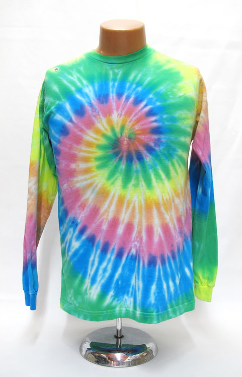 Pastel Rainbow Center Spin Short/Long Sleeve T-Shirts ($25+up)