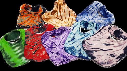 Tie Dye Bibs - ($6)