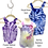 Thumbnail: Tie Dye Toddler Overalls - ($20)