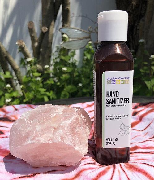 Aura Cacia Hand Sanitizer 4oz. - ($8)