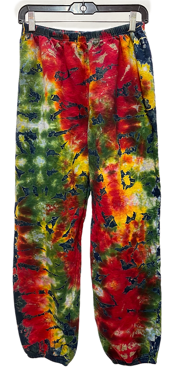 Rasta Crumble sweat pants by @StarhakwDesignStudio