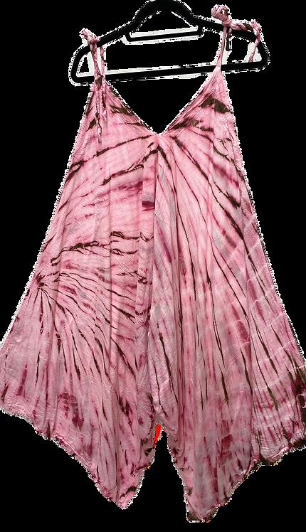 Cotton tie-dye romper by @starhawkdesignstudio