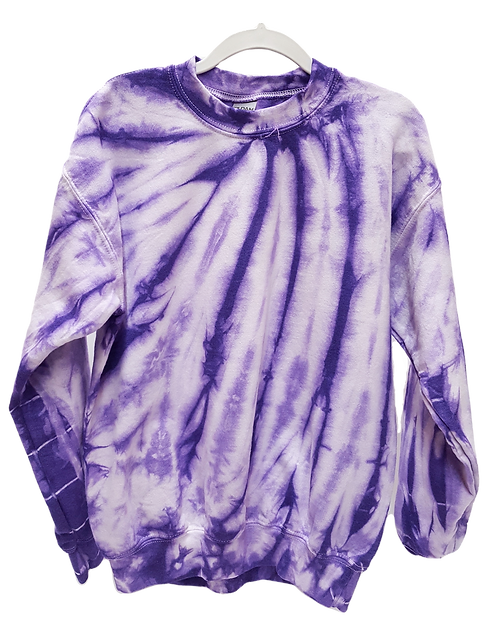 Youth Purple Neck Spin Sweatshirt/Hoodie ($35)