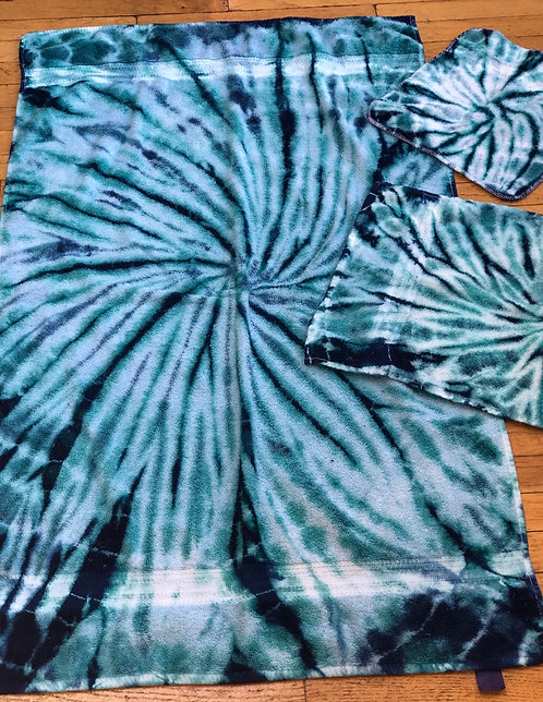 Bath/Hand Towels and Washcloths - Ocean ($60 set)