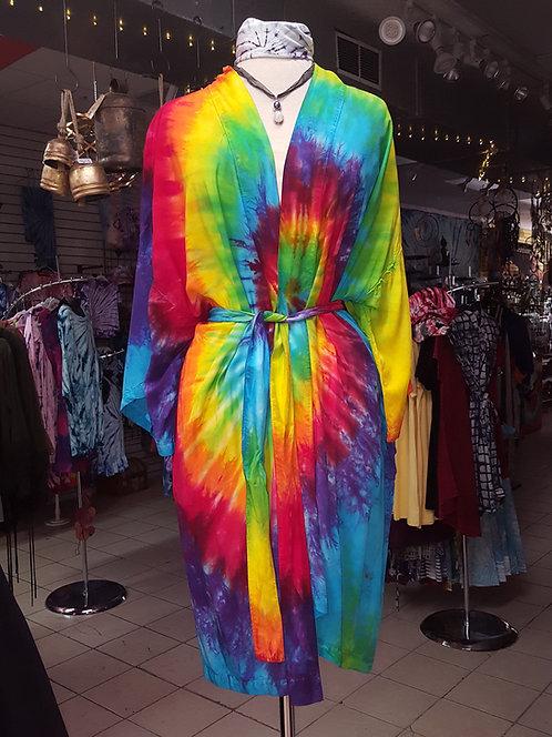 Classic Rainbow Kimono ($75)