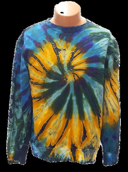 Tie dye sweatshirt by @starhawkdesignstudio