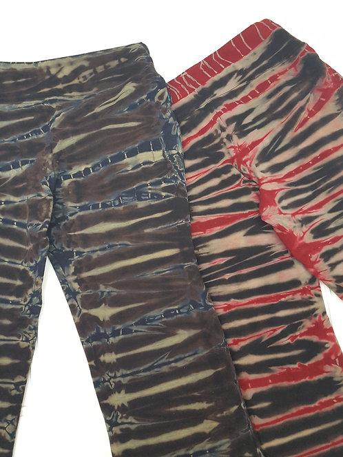 Tie-Dye Stripe Yoga Pants ($45+up)