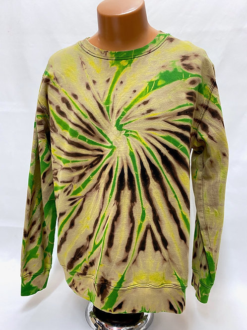 Apple-On-Black Center Spin Sweatshirt/Hoodie ($40+up)