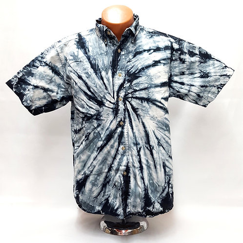 Black Onyx Center Spin Button Down Shirt ($55)
