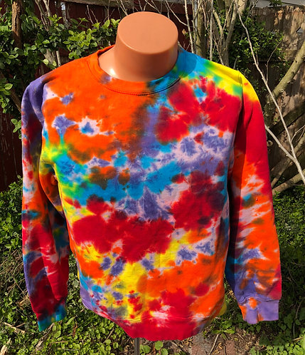 Scrambled Rainbow Sweatshirt/Hoodie ($40+up)