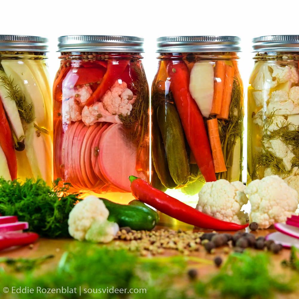 מתכון לירקות מוחמצים