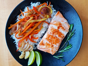 Salmon - juicy and super tender