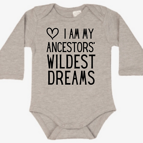 Ancestors' Dreams Long-Sleeved Onesie