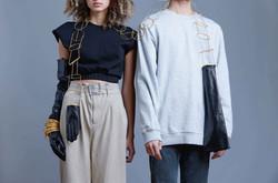 Dwang_Hybrid Garment_Glove and Bangle St