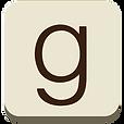 goodreads icon - brown social media squa