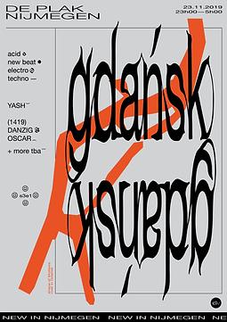 gdansk poster studio janne beldman graphic design nijmegen