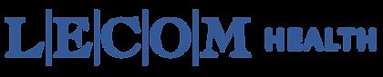 LECOM Health Master Logo(Blue)_Rectangle