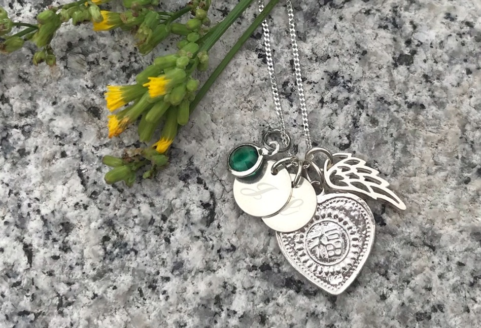 A stunning & exceptionally meaningful necklace