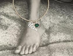 2mm 925 Sterling silver anklet