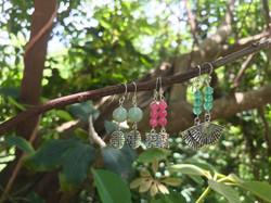 Amazonite, Pink Jade & Chinese Jade