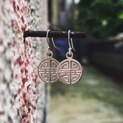 'Double Happiness' earrings
