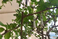 925 Sterling silver tassel earrings
