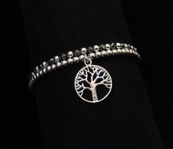 'Tree of Life' with Hematite stones