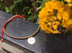 14k gold filled anklet