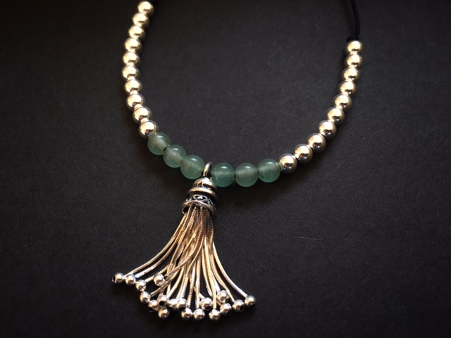 The Chinese Jade stones & tassel