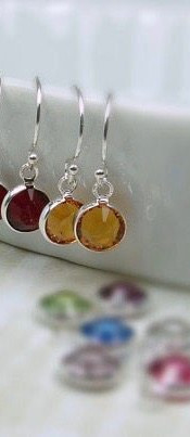 Pretty Swarovski crystal earrings