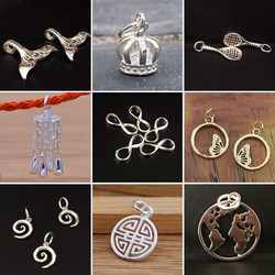 A variety of some of our newer charms