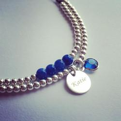 The wonderful Blue Agate stone