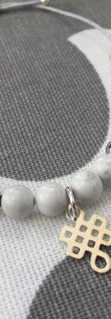 The 6mm 'eternal knot' bracelet