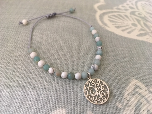 White Howlite & Amazonite