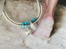 Our flip flop and starfish charms