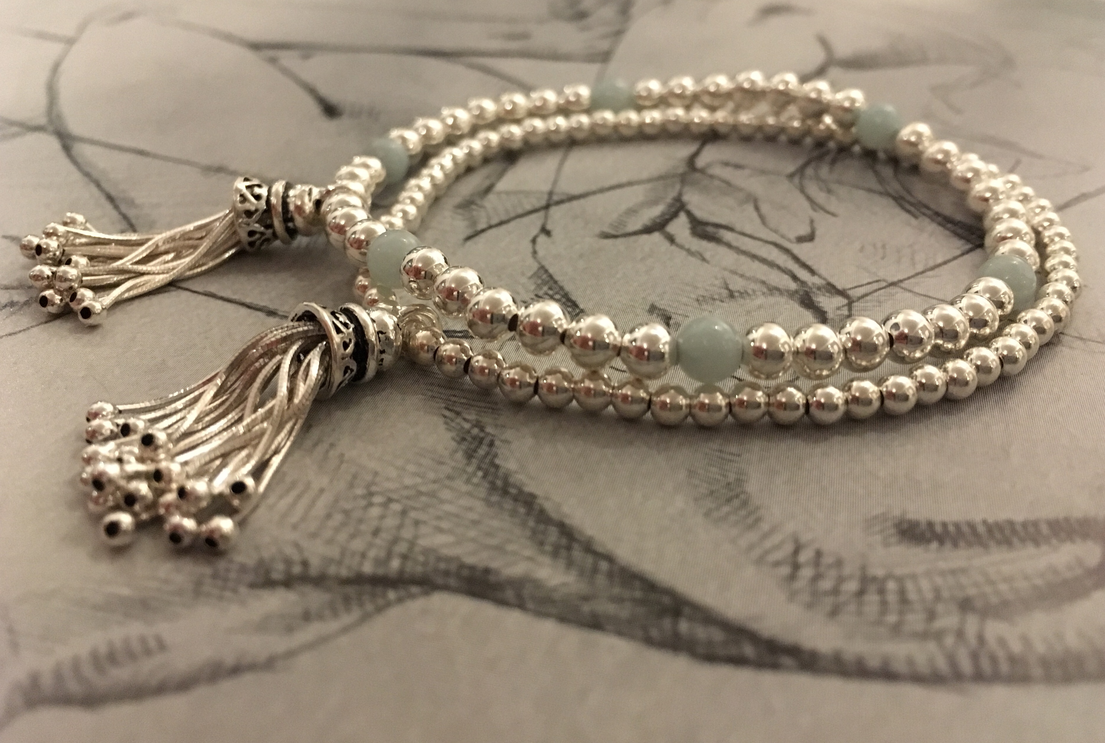 Our 925 Sterling silver tassel