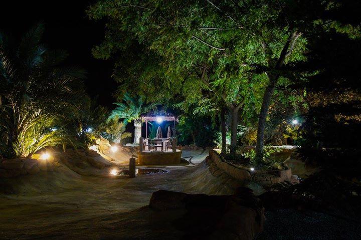 iluminacion exterior jardines