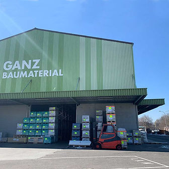 Ganz Baumaterial Nachweisverfahren Brandschutzplanung Bauer und Partner St. Gallen Gewerbe Industrie