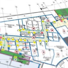 Brandschutzpläne Brandschutzplan Brandschutznachwei CAD Flucht- und Rettungsweg