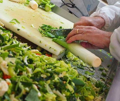preparazione verdure miste biologiche
